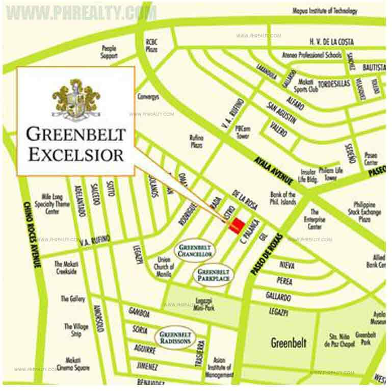 Greenbelt Excelsior - Location & Vicinity