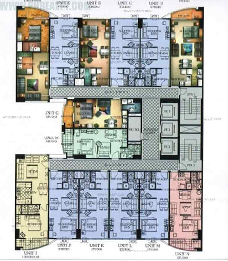 Greenbelt Excelsior - Typical Floor Plan
