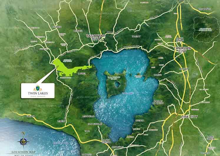 Twin Lakes - Location & Vicinity