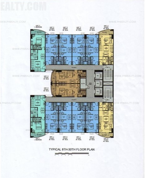 Greenbelt Chancellor - Typical Floor Plan