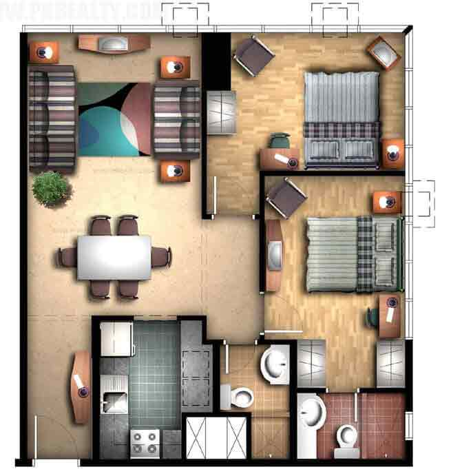 Greenbelt Chancellor - 2 Bedroom