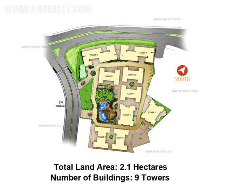Avida Towers Sucat - Site Development Plan