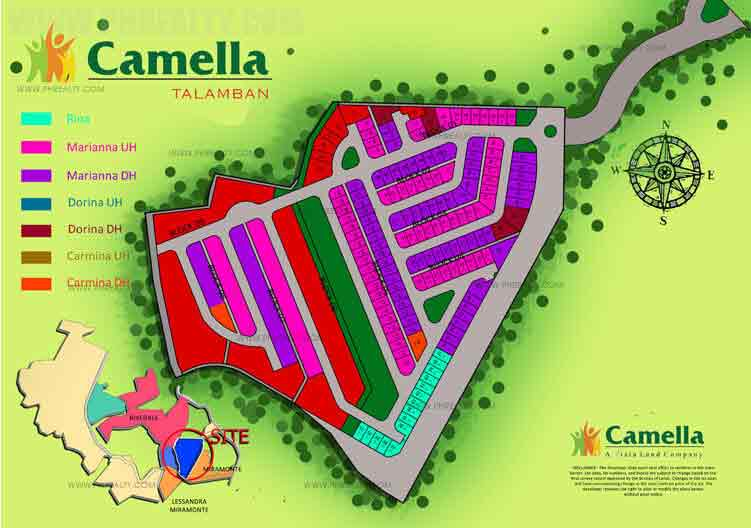 Camella Riverfront - Site Development Plan