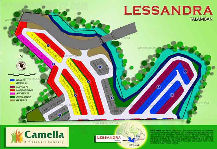Camella Riverview - Site Development Plan
