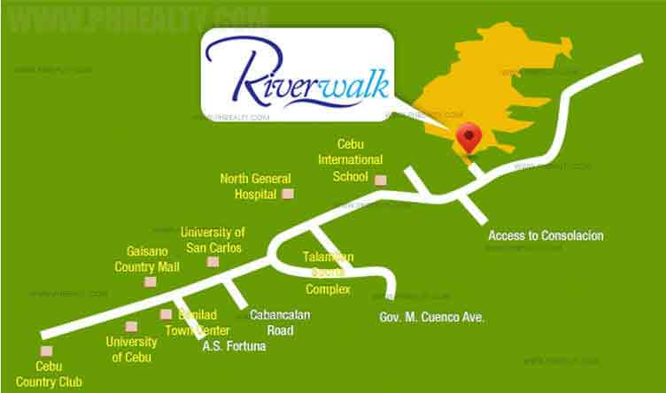 Camella Riverwalk - Location & Vicinity