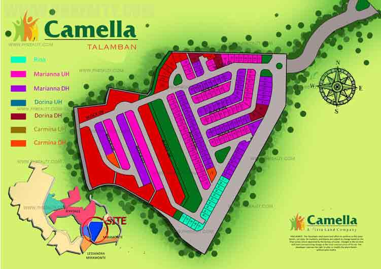 Camella Riverwalk - Site Development Plan