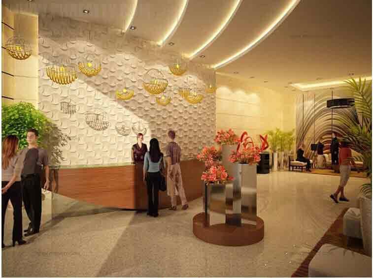 Three Central - Lobby