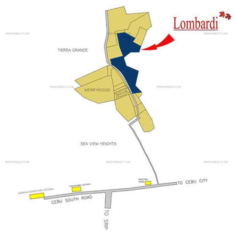 Camella Lombardi - Location & Vicinity
