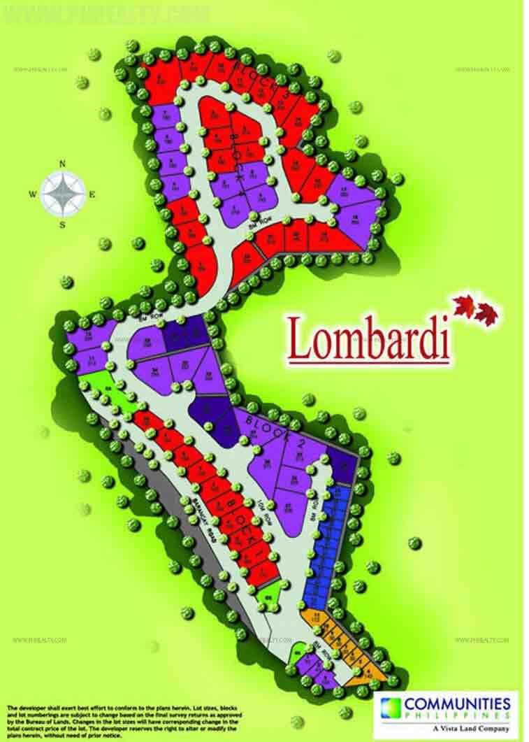 Camella Lombardi - Site Development Plan