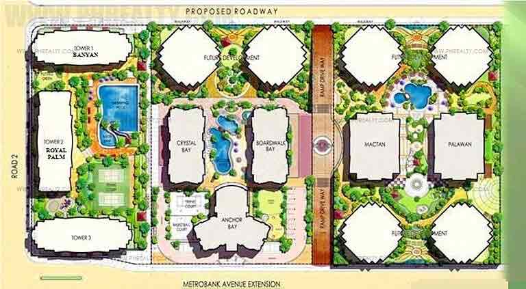 Bay Garden Club and Residences -  Development Plan