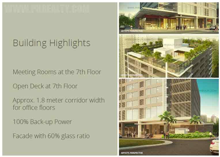 One Park Drive - Building Features