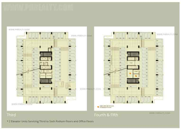 One Park Drive - Podium Floor Plan