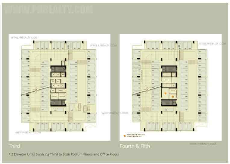 One Park Drive - Podium Floor Plan