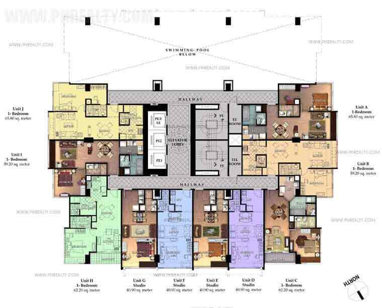 Two Central - 8th Floor Unit Plan