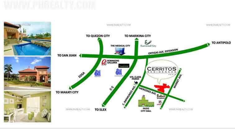 Cerritos Residences - Location & Vicinity