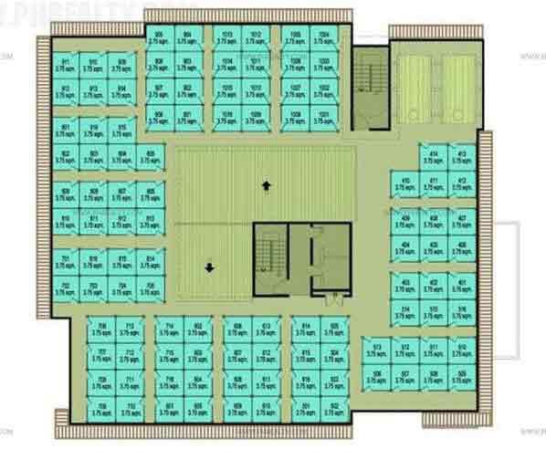 Cerritos Residences - Roofdeck Plan