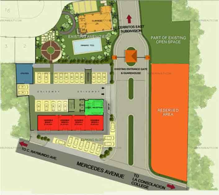 Cerritos Residences - Site Development Plan