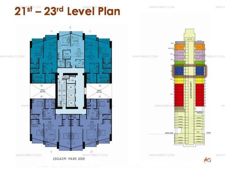KL Mosaic - 21st - 23rd Floor