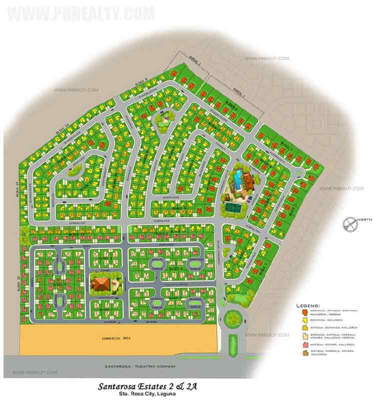 Santarosa Estates - Site Development Plan