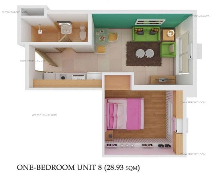 878 Espana - 1 Bedroom Unit 8