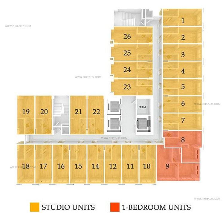 878 Espana - Typical Floor Plan