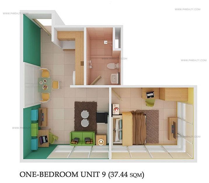 878 Espana - 1 Bedroom Unit 9