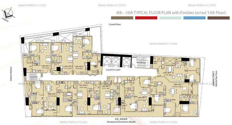 Mayfair Tower - Typical Floor Plan