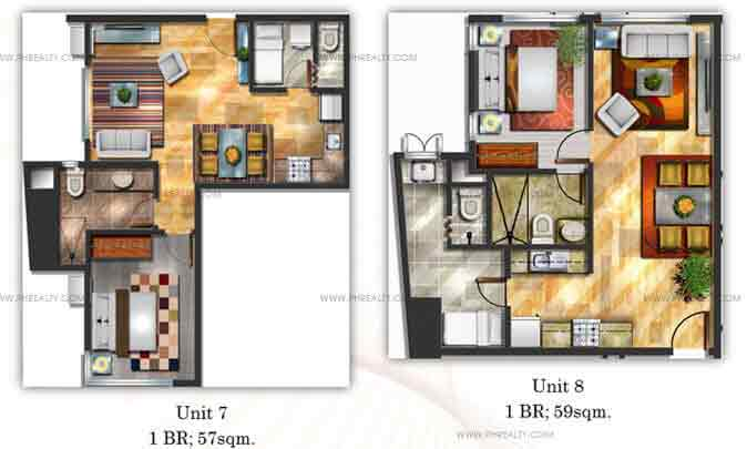 Mayfair Tower - One Bedroom Unit
