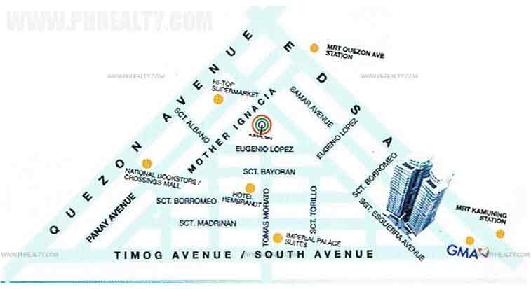 The Symphony Towers  - Location & Vicinity