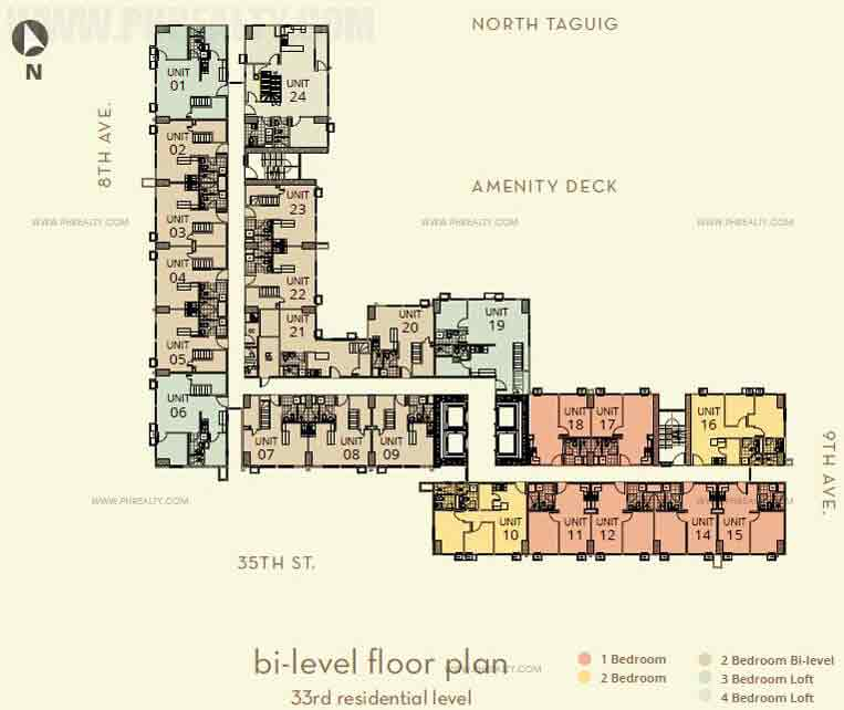 The Montane - Bi-Level Floor Plan 33rd
