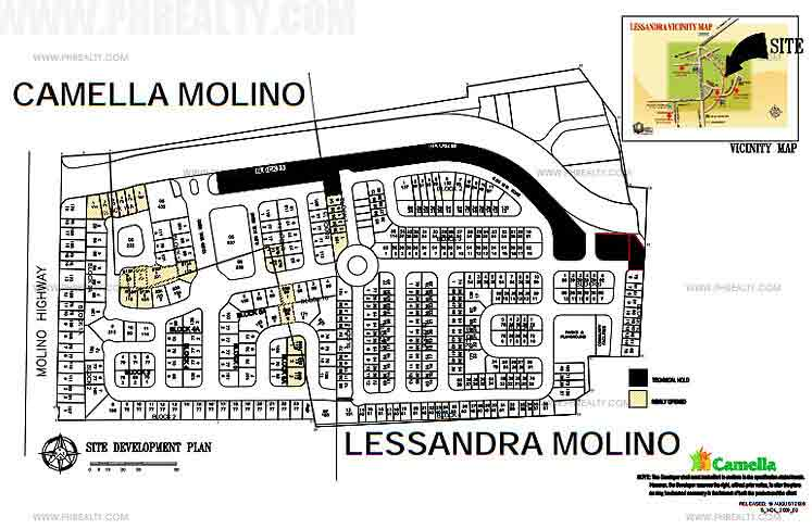 Camella Molino - Site Development Plan