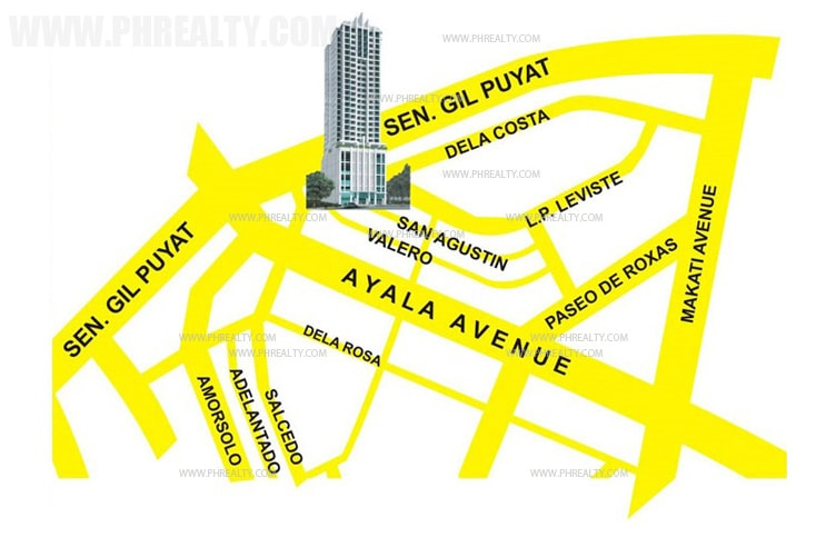 Salcedo Square - Location & Vicinity