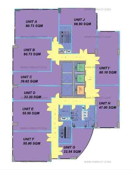 The Currency - Typcial Office Floor Plan
