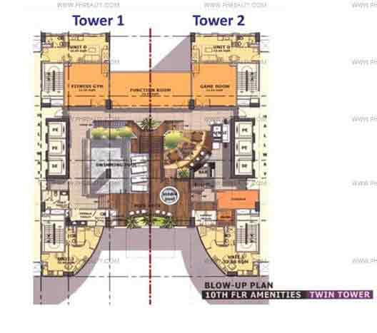 The Currency - Amenity Floor Plan