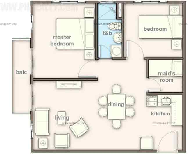 Madison Place - 2 Bedroom Unit