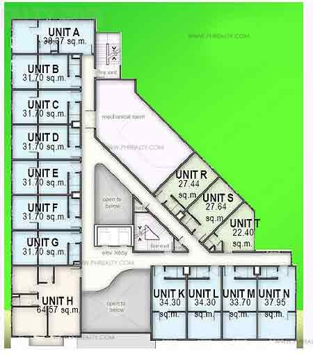 Madison Place - 2nd Floor Plan