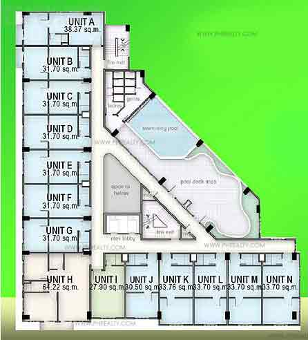 Madison Place - 3rd Floor Plan