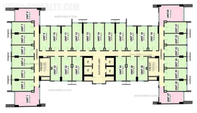 Vista Residences Taft - Floor Plan