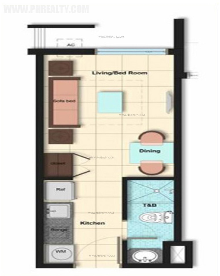 Vista Residences Taft - Studio Unit