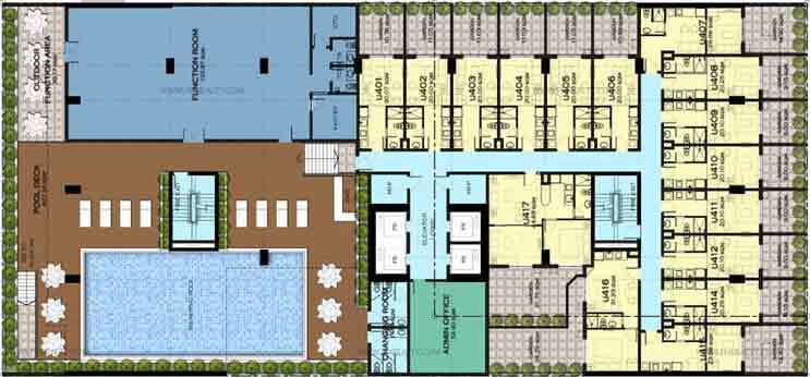 Camella Condo Homes Katipunan - Amenity Floor Plan