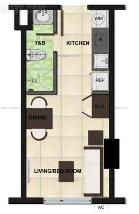 Camella Condo Homes Katipunan - Studio Unit