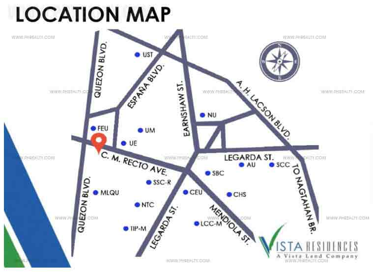 Vista Recto - Location & Vicinity