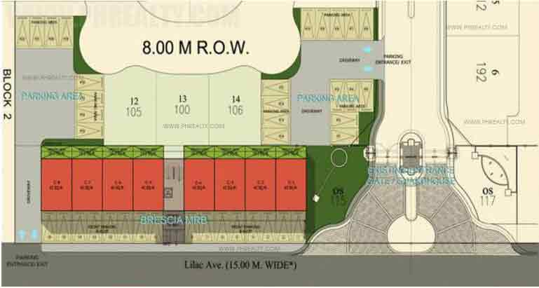 Brescia Residences - Site Development Plan