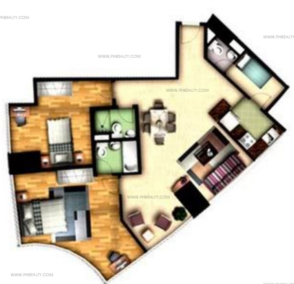 One Central - 2 Bedroom