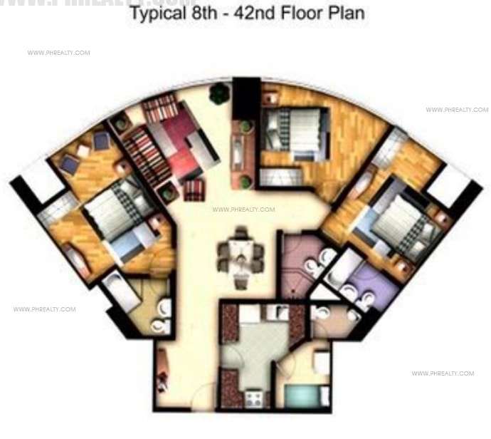 One Central - 3 Bedroom