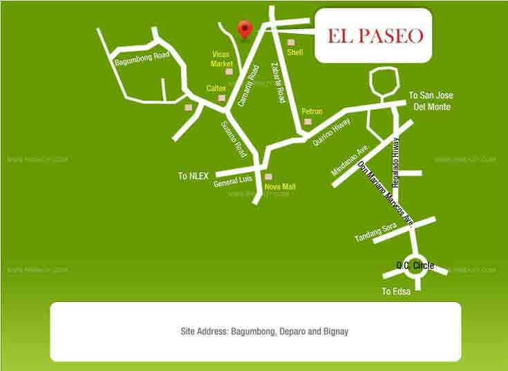 El Paseo - Location & Vicinity