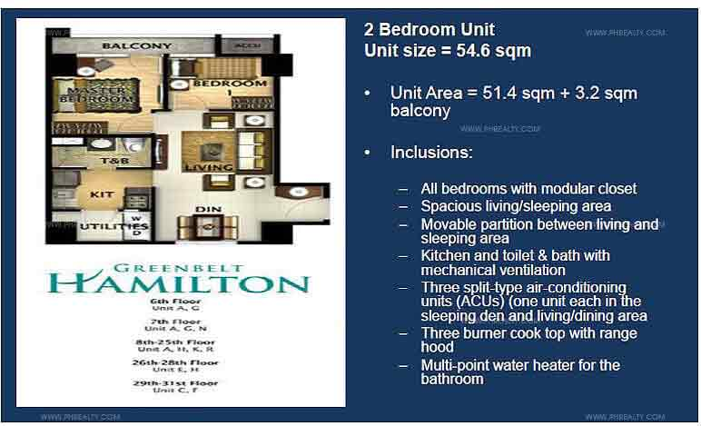 Greenbelt Hamilton - 2 Bedroom