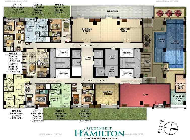 Greenbelt Hamilton - 6th Floor Plan