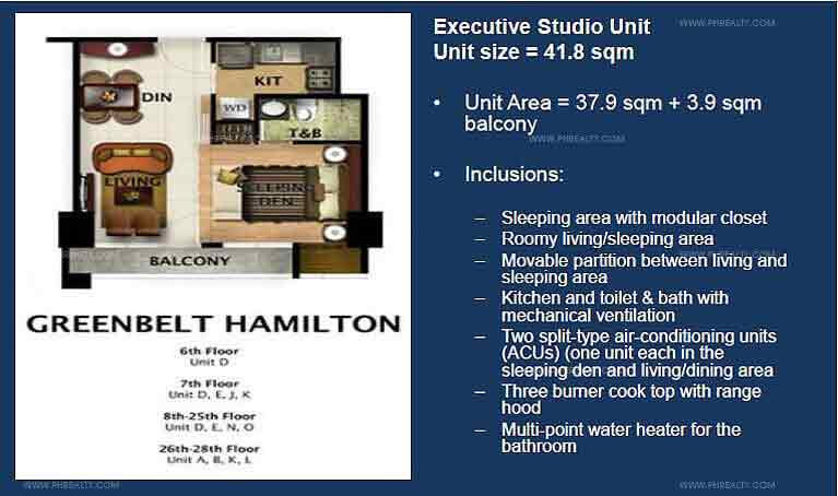 Greenbelt Hamilton - Executive Studio