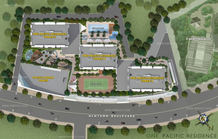 One Pacific Residence - Site Development Plan